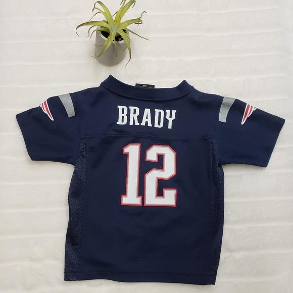 f9df1a3e New England Patriots Tom Brady toddler jersey